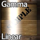Gamma and Linear Spaces