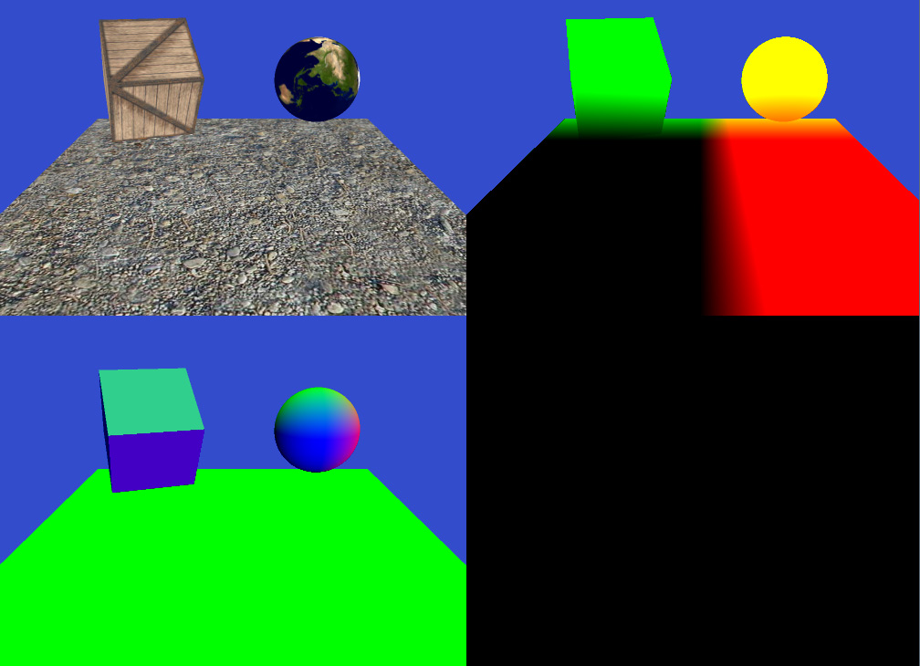 Coding Labs :: Simple OpenGL Deferred Rendering Tutorial